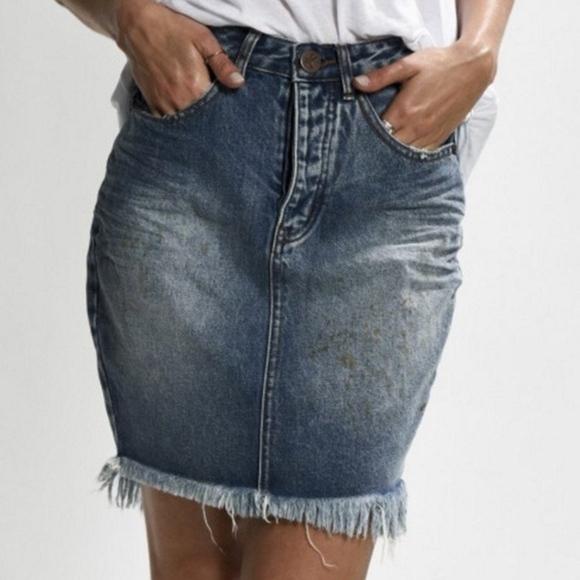 One Teaspoon 2020 Jean Skirt